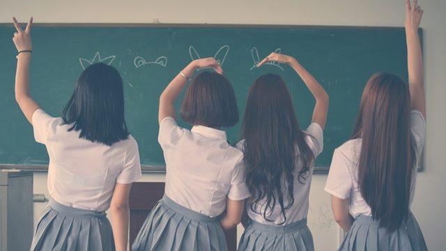 楽しい女子高生たち