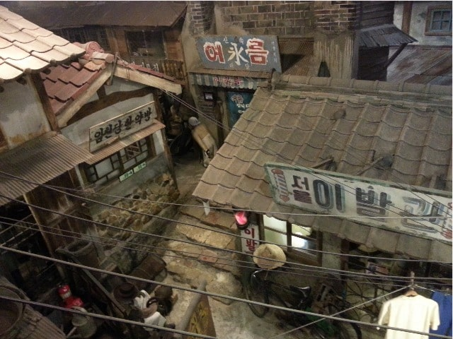 韓国近現代史博物館 内部