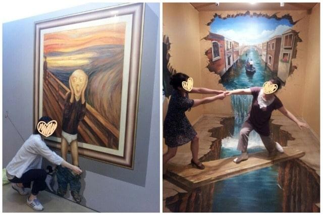 ヘイリ芸術村の美術館