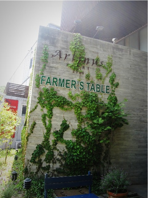 FARMER'S TABLE入口