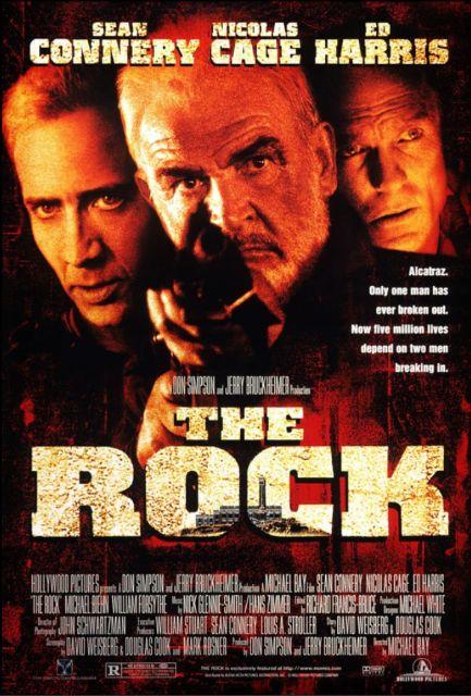 『ザ・ロック』poster