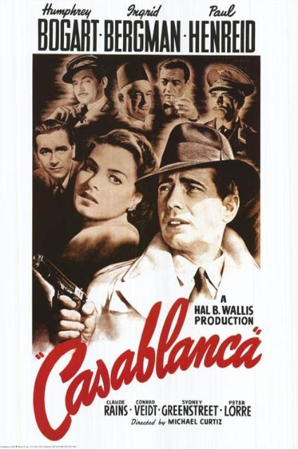『カサブランカ』poster