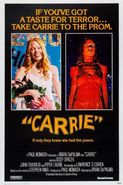 『キャリー』poster