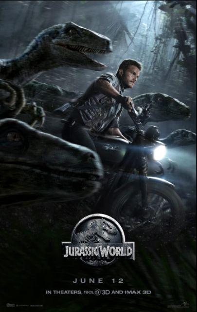 『ジュラシック・ワールド』poster