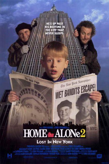 『ホーム・アローン2』poster