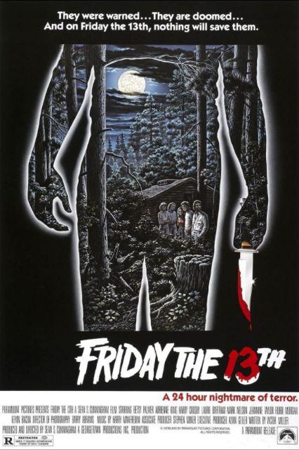 『13日の金曜日』poster